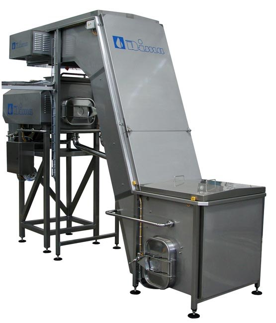 AUTOMATIC MOZZARELLA LOADING, COUNTING AND WEIGHING SYSTEMS TO FEED PACKAGING MACHINES